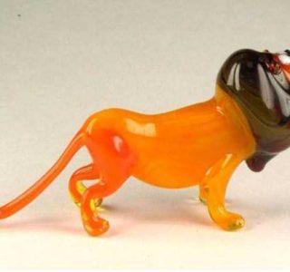 Miniature Handmade Glass Sculptures by Nikita Drachuk (33 photos)