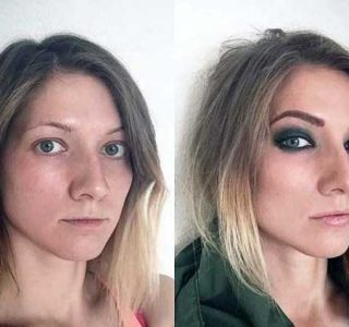 Average-Looking Girls Before and After Makeup (26 photos)