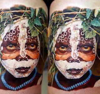 30 Insanely Realistic Portrait Tattoos (30 photos)