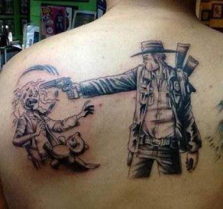 Badass Walking Dead Tattoos (21 photos)