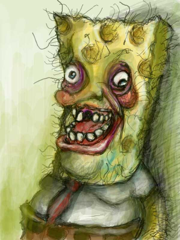 23 Highly Disturbing Pieces Of Spongebob Fan Art Klyker Com