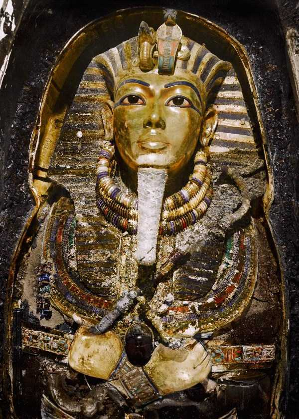 Fantastic Color Pictures Of Tutankhamun S Tomb Klyker Com