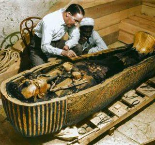 Fantastic Color Pictures of Tutankhamun's Tomb (21 photos)