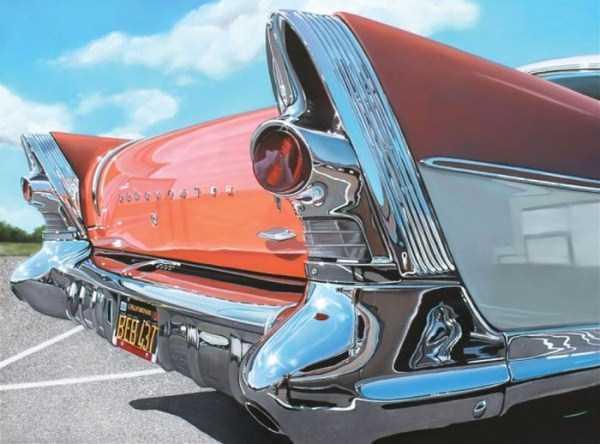 Cheryl Kelley-realistic-car-drawings (11)