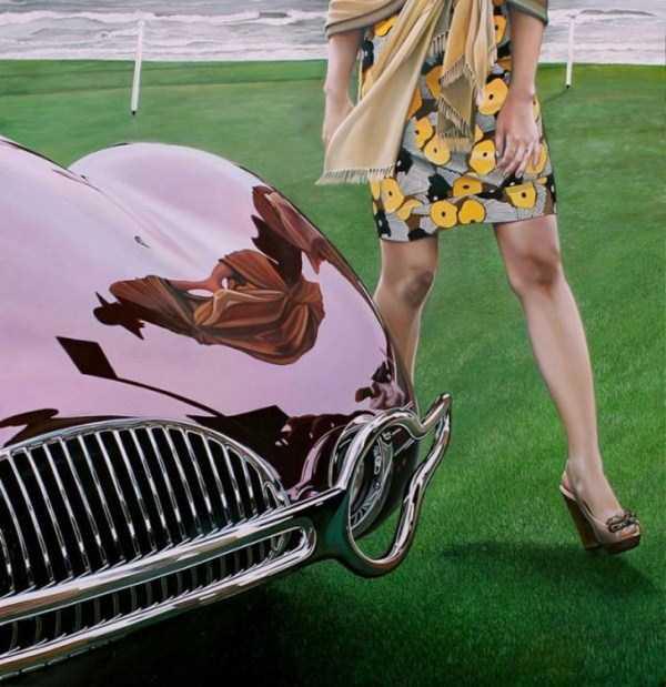 Cheryl Kelley-realistic-car-drawings (12)