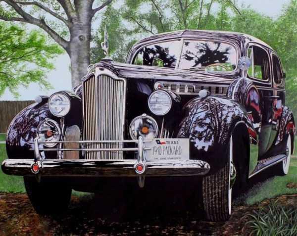 Cheryl Kelley-realistic-car-drawings (13)