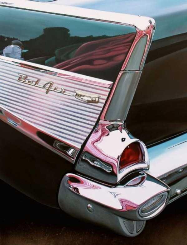 Cheryl Kelley-realistic-car-drawings (14)