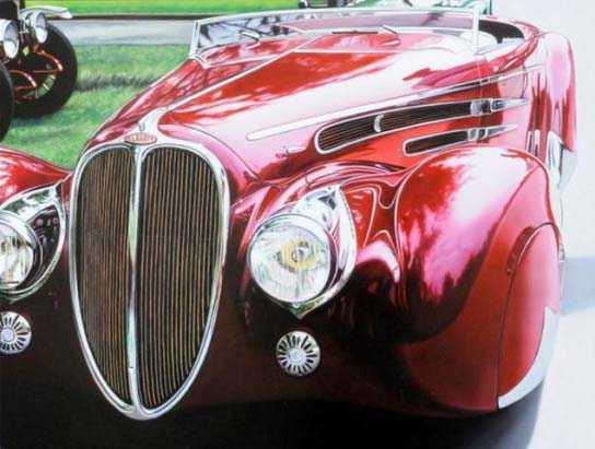 Cheryl Kelley-realistic-car-drawings (15)