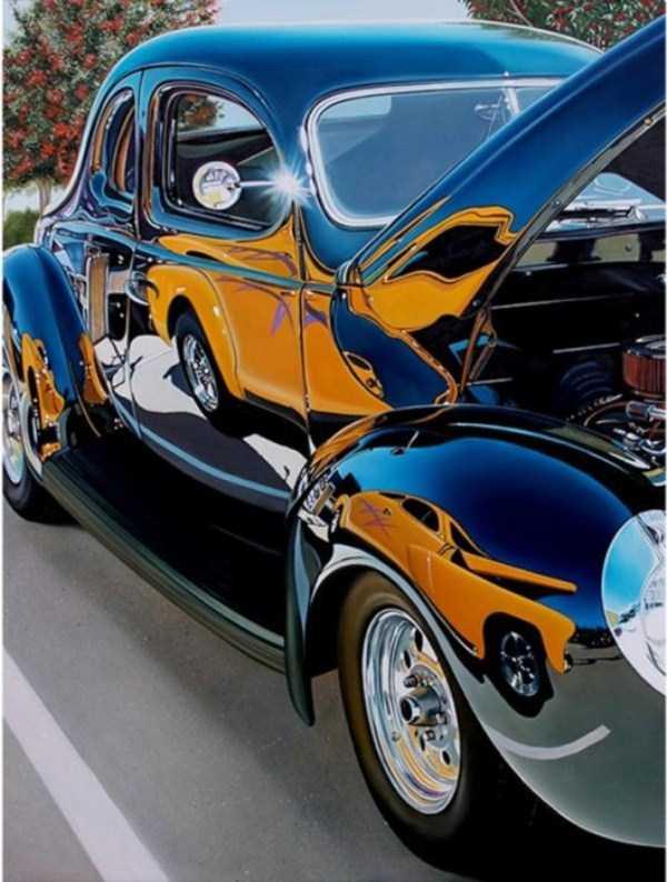 Cheryl Kelley-realistic-car-drawings (18)