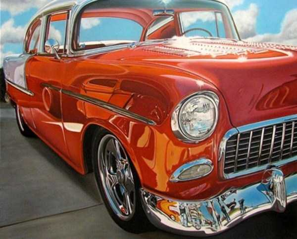 Cheryl Kelley-realistic-car-drawings (19)