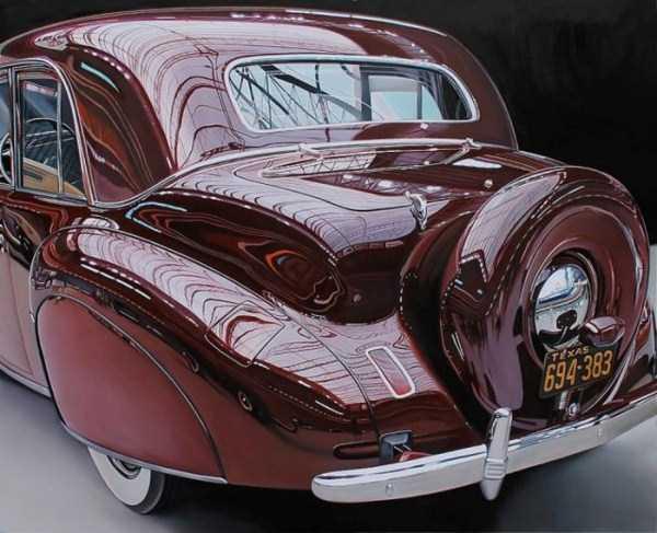 Cheryl Kelley-realistic-car-drawings (2)