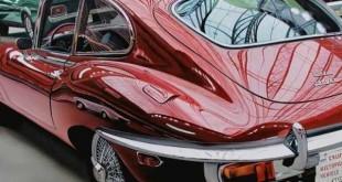 Cheryl Kelley-realistic-car-drawings (20)
