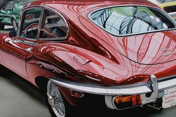 Cheryl Kelley-realistic-car-drawings (20)