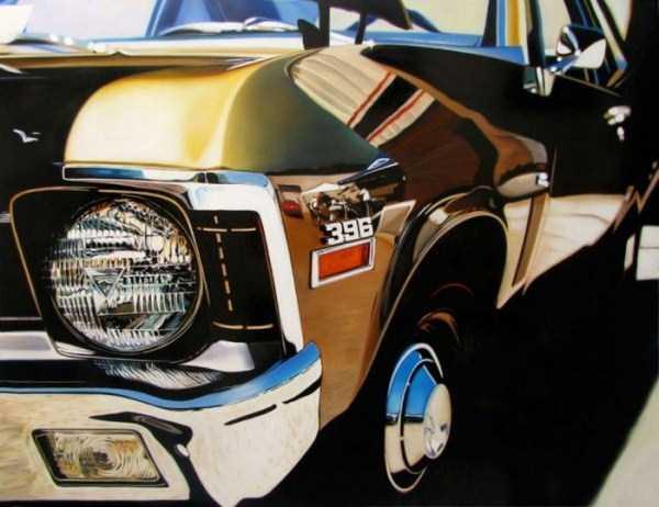 Cheryl Kelley-realistic-car-drawings (22)
