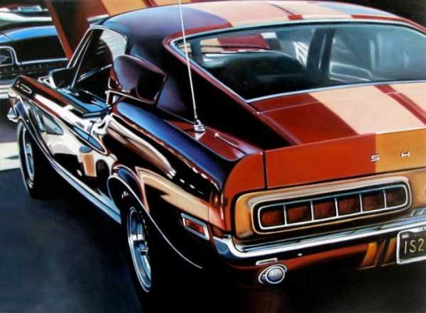 Cheryl Kelley-realistic-car-drawings (23)