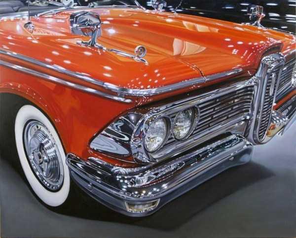Cheryl Kelley-realistic-car-drawings (25)