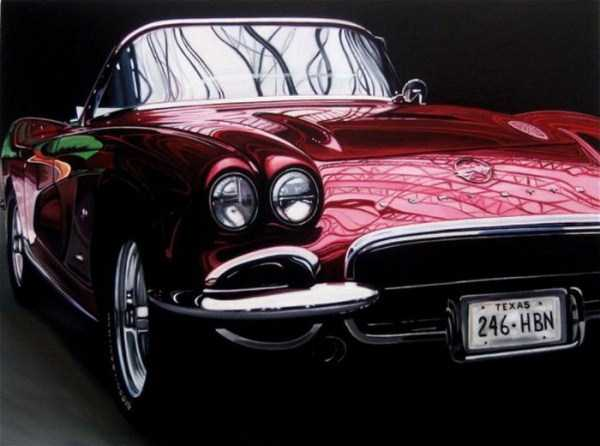 Cheryl Kelley-realistic-car-drawings (5)