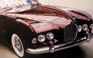 Cheryl Kelley-realistic-car-drawings (6)