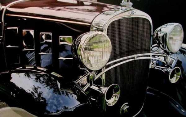 Cheryl Kelley-realistic-car-drawings (7)