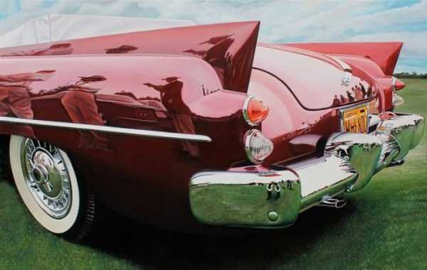 Cheryl Kelley-realistic-car-drawings (9)