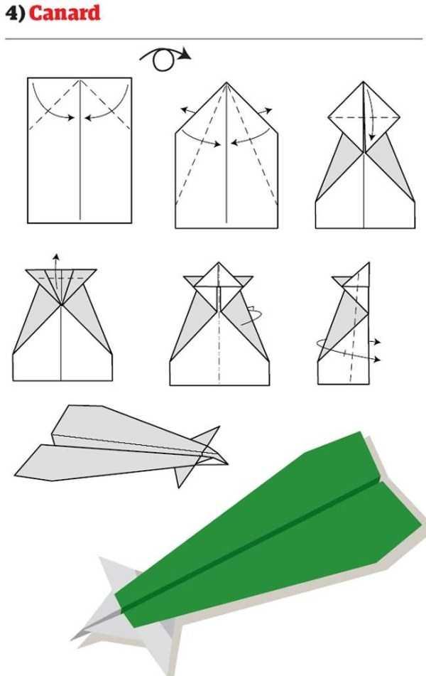 Как сделать самолет из бумаги своими руками чтобы он летал