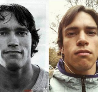 Russian Bodybuilder Who Looks Like Arnold Schwarzenegger (12 photos)