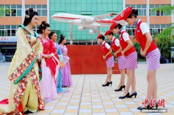 china-stewardesses-training (2)