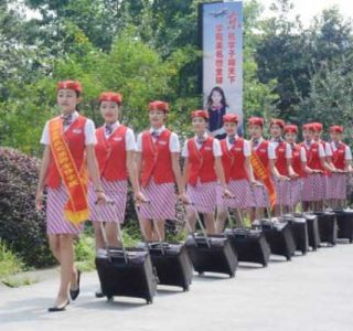 It's Not Easy to Become a Flight Attendant in China (21 photos)