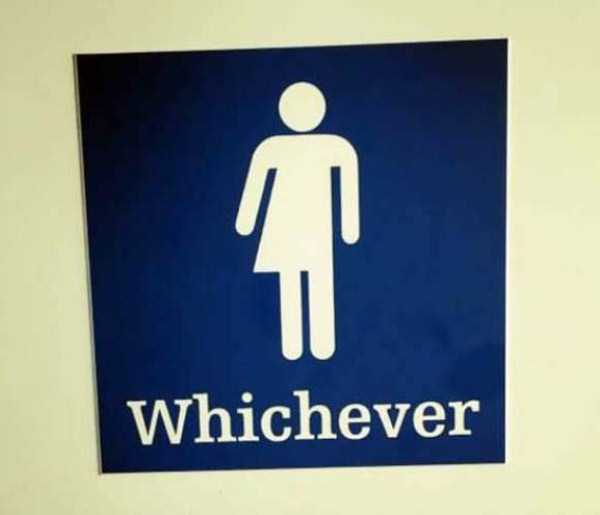 Funny restroom signs 19 for Funny bathroom photos