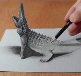 40 3D Pencil Drawings That Are Just Insane (40 photos)