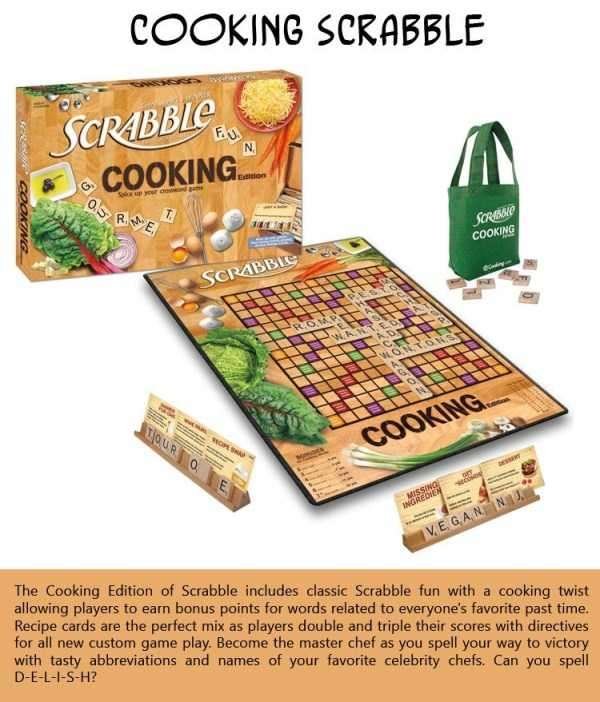 Cooking-Scrabble