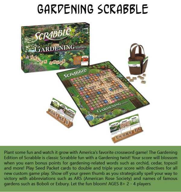 Gardening-Scrabble