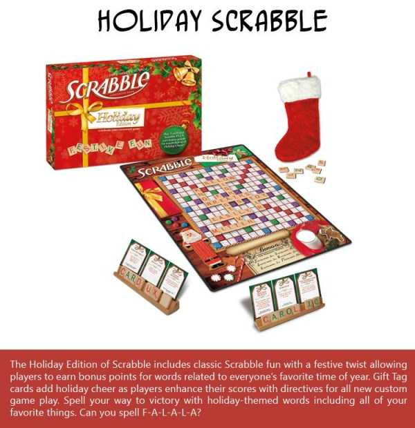 Holiday-Scrabble