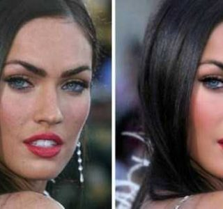 Celebrities Before and After the Photoshop Treatment (52 photos)