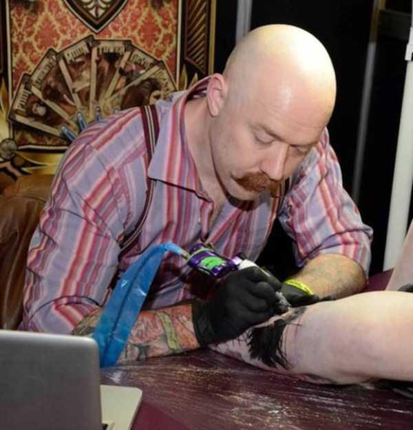 Tatuagens hiper realistas!
