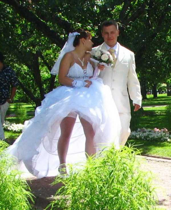 ххх фото в свадебном плате