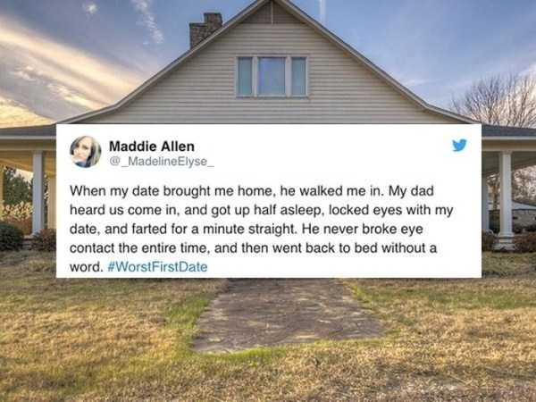 reddit worst dating stories These worst first date stories are so effing awkward  people on reddit are  spilling details about their absolute worst first dates ever and we.