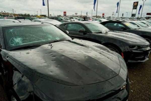 hail damaged cars 1
