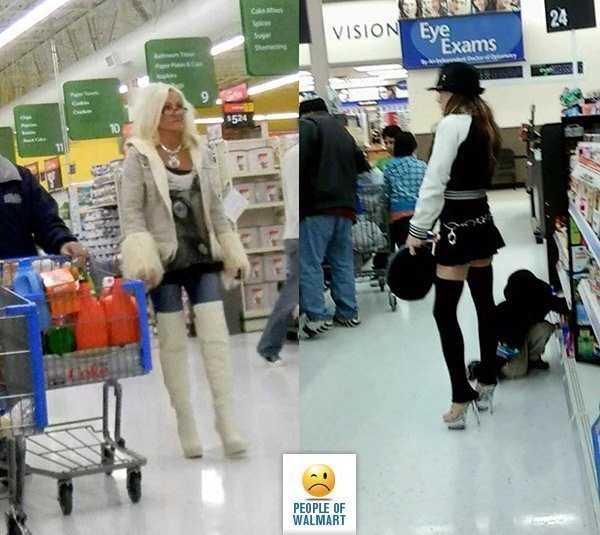 Creepy People Of Walmart | KLYKER.COM