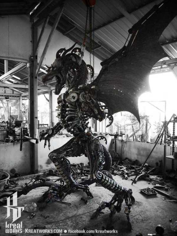 steampunk-sculptures-kreatworks (4)