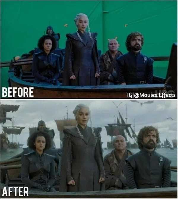 35 Movie Scenes With And Without CGI | KLYKER COM
